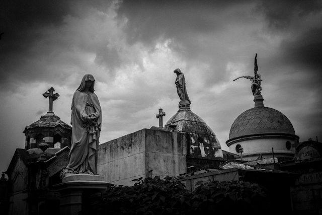Argentina Buenos Aires Cementerio Recoleta Estatuas