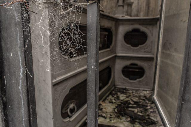 Argentina Buenos Aires Cementerio Recoleta Tumba Abandonada
