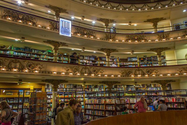 Argentina Buenos Aires Ateneo Grand Splendid Desde Platea