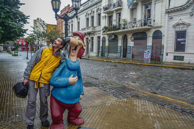Argentina Buenos Aires Paseo Historieta Larguirucho
