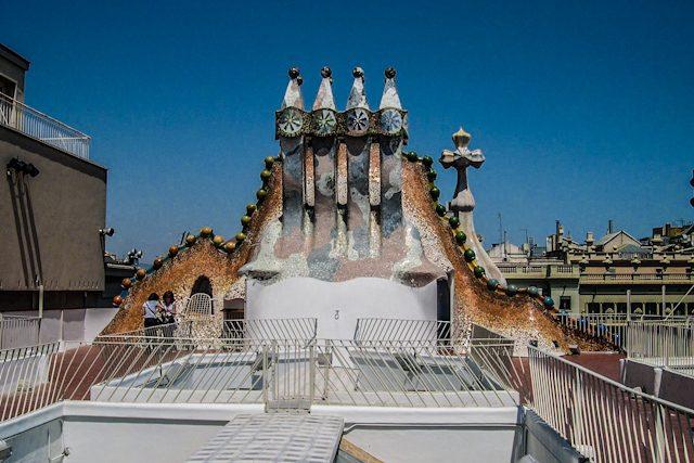 Barcelona Casa Batlló Azotea