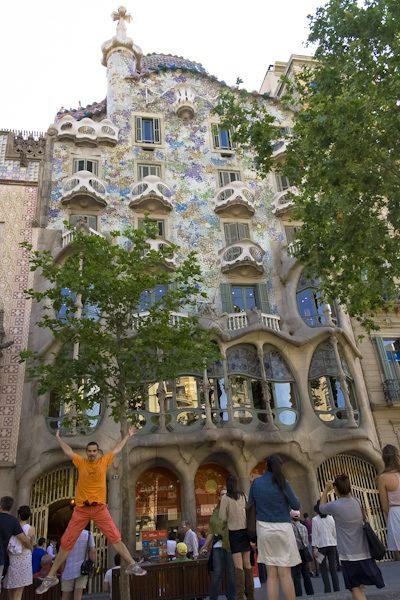 Barcelona Casa Batlló Salto