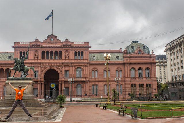 Buenos Aires Casa Rosada Salto