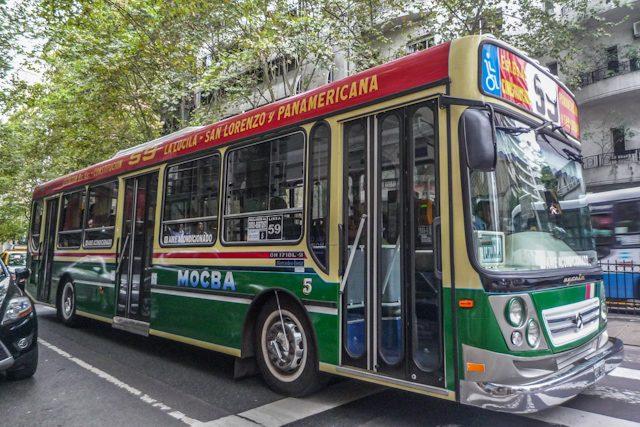 Buenos Aires Colectivo Autobus