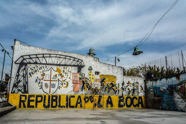 Bueno Aires La Boca