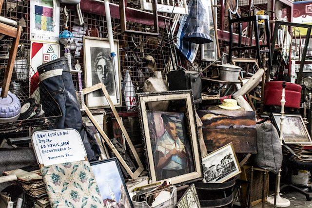 Buenos Aires Mercado de las Pulgas