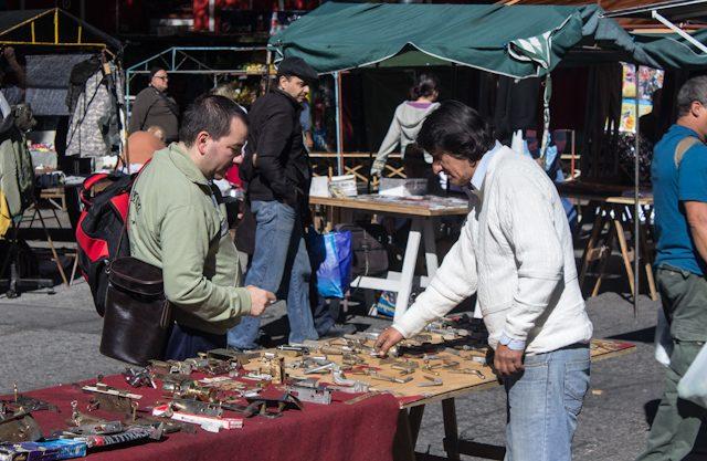 Uruguay Montevideo Feria Tristán Narvaja