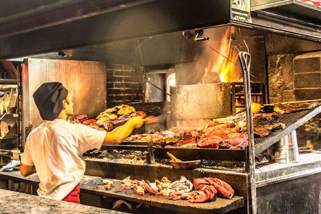 Uruguay Montevideo Mercado del Puerto Parrilla