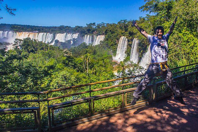 Argentina Cataratas Iguazu Arriba Salto
