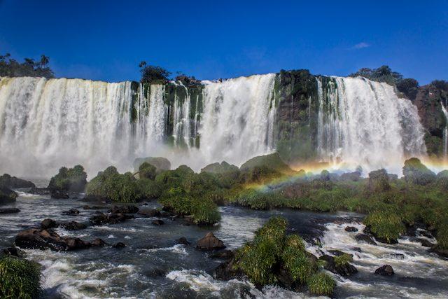 Brasil Cataratas Iguazu Abajo