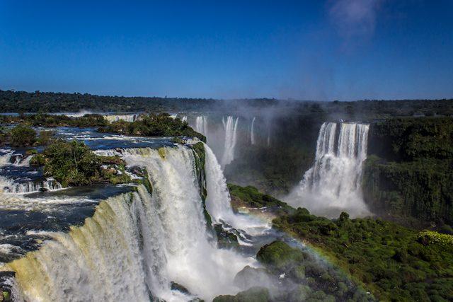 Brasil Cataratas Iguazu Arriba