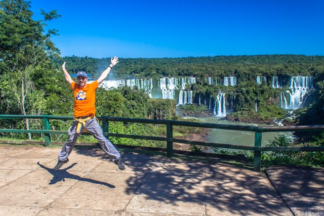 Brasil Cataratas Iguazu Salto