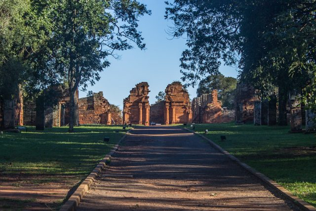 Misiones Jesuiticas Argentina San Ignacio Mini Entrada