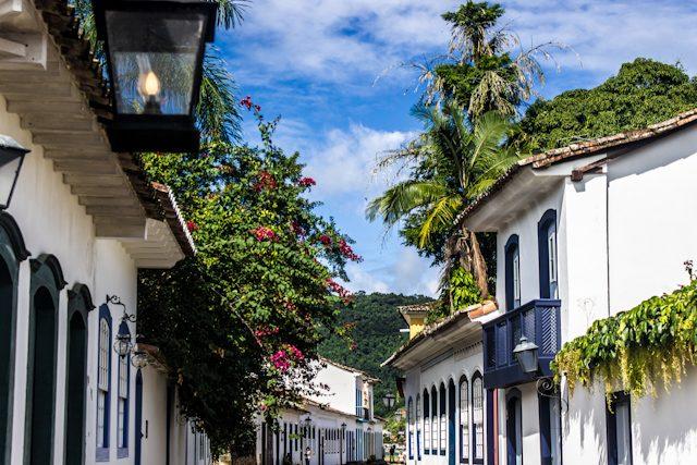 Paraty Casas Casco Antiguo Historico Vegetacion