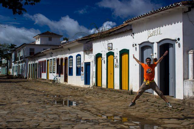 Paraty Casco Antiguo Histórico Salto