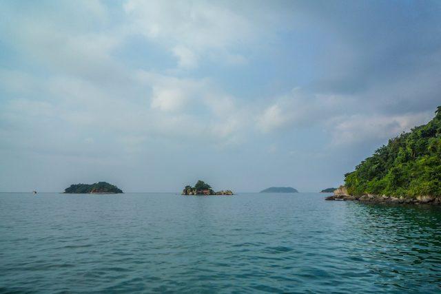 Paraty Paseo Escuna Islas