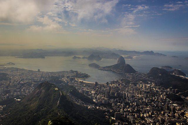 Rio de Janeiro Vista Pan de Azucar Corcovado