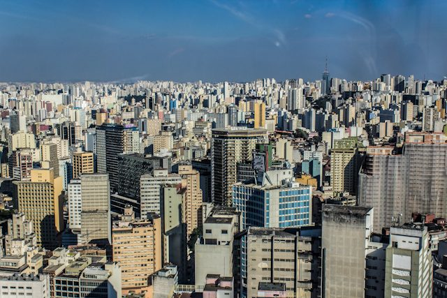 Sao Paulo Paisaje Rascacielos