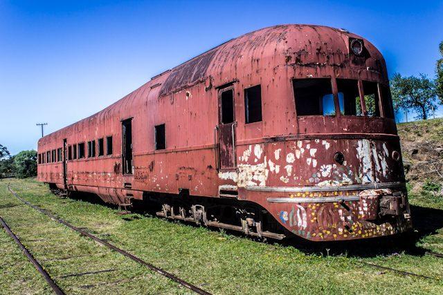 Uruguay Tacuarembo Valle Eden Tren Abandonado