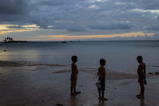 Morro Sao Paulo Niños Playa Tercera