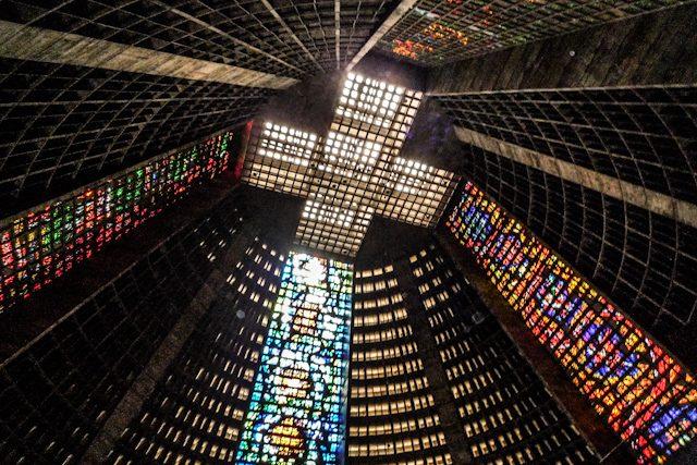 Rio de Janeiro Catedral Interior