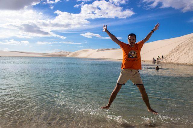 Lençois Maranhenses Salto Lagoa Azul Danceliz Adventure