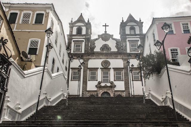 Salvador Escadaria Do Carmo Dia