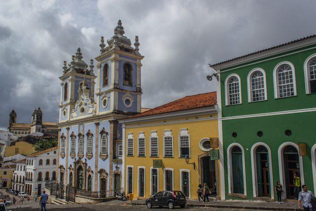 Salvador Pelourinho Igreja de Nossa Senhora do Rosario dos Pretos
