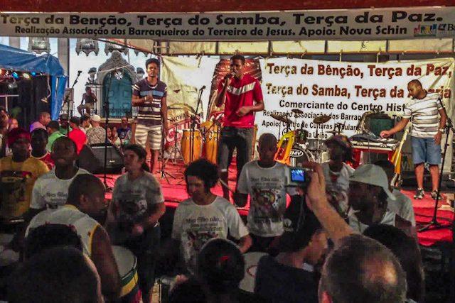 Salvador Terreiro de Jesus Escenario