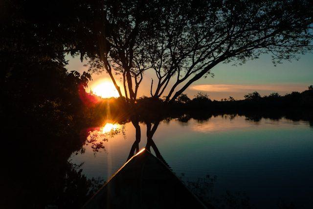 Hotel Selva Amazon Tupana Lodge Atardecer