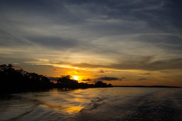 Río Amazonas Amanecer