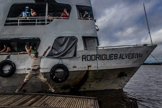 Río Amazonas Rodrigues Alves Salto