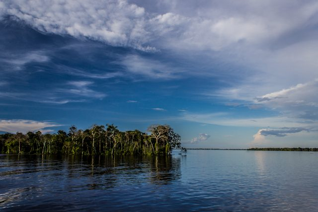 Río Amazonas Unión Brazos