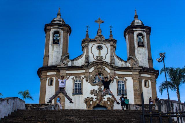 Ouro Preto Saltando Wesley