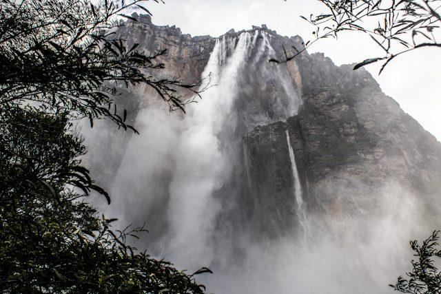 Salto Angel Venezuela Mirador Roca