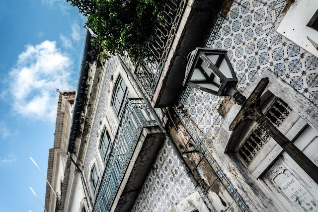 Sao Luis Azulejos Deterioro Casco Histórico Ponto A Ponto