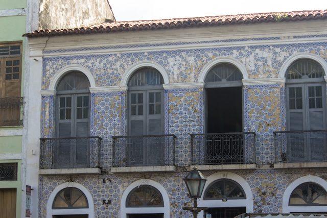Sao Luis Fachada Azulejos Casco Histórico Ponto A Ponto
