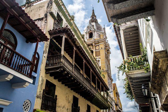 Cartagena de Indias Vista Catedral