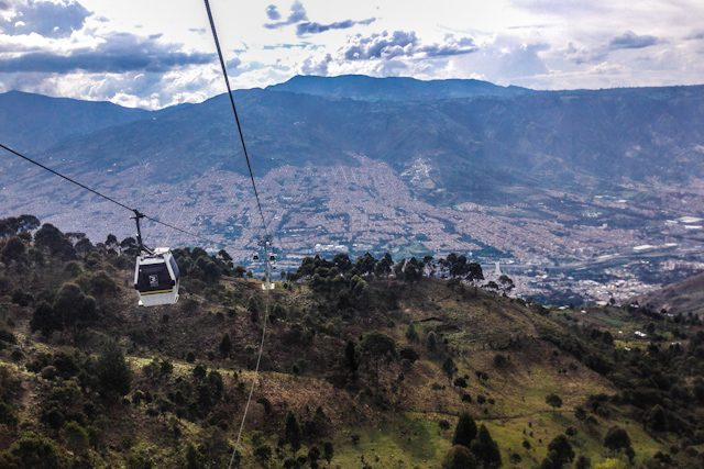 Medellin Vista Teleferico