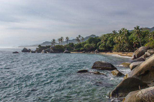 Colombia Parque Tayrona Playa Cuento Niño