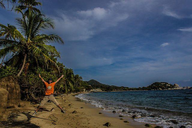 Colombia Parque Tayrona Playa Salto