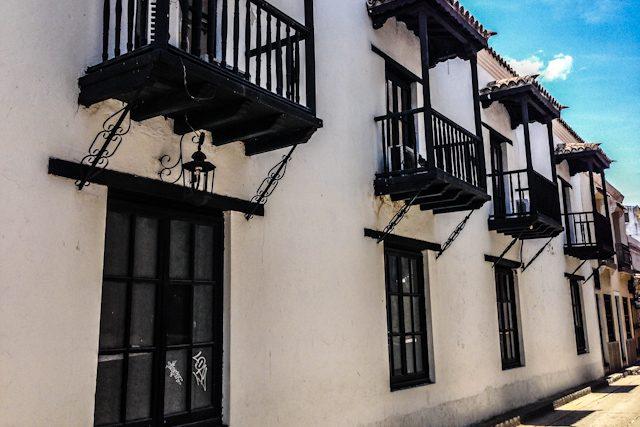 Colombia Santa Marta Ciudad Colonial Balcones