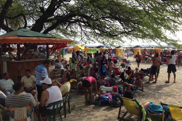 Colombia Santa Marta Playa El Rodadero