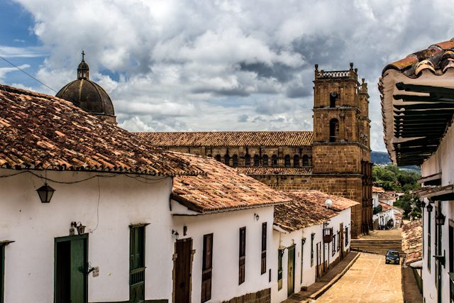 Barichara Calles Catedral