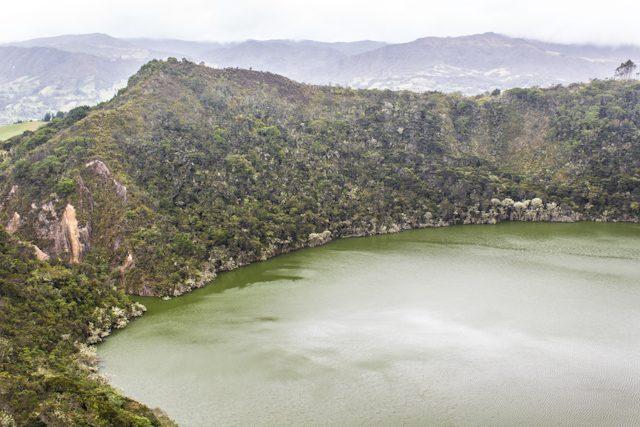 Bogotá Laguna Guatavita Boquete