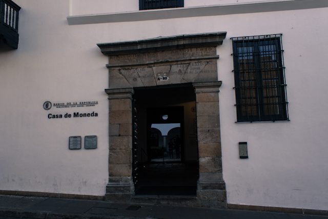 Bogota Casa De La Moneda Fachada