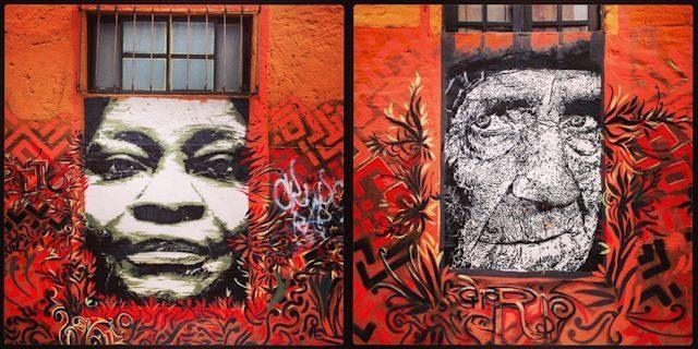 Bogota La Candelaria Graffitis