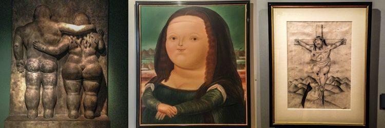 Bogota Museo Botero Monalisa Mosaico