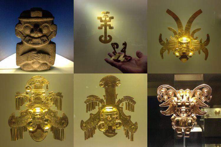 Bogota Museo Del Oro Mosaico