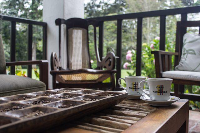 Colombia Santander Hacienda El Roble Taza Cafe